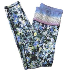 Nanette Lepore Legging Tight Athletic Floral Print
